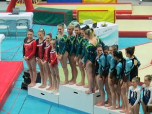 Viriat Championne Equipe Région 2015